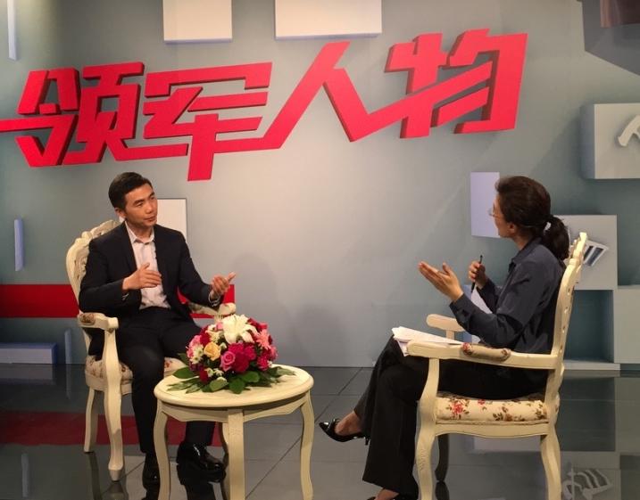 央视董倩 专访旺财谷CEO曾克庆